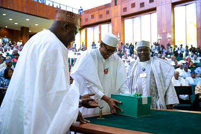 Speech of H.E. President Muhammadu Buhari at the 2017 budget of recovery and growth at joint session of the National Assembly 14th December 2016