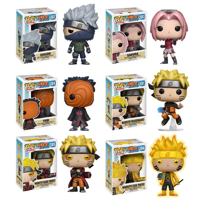 Funko On Twitter Quot Coming Soon New Naruto Shippuden Pop S