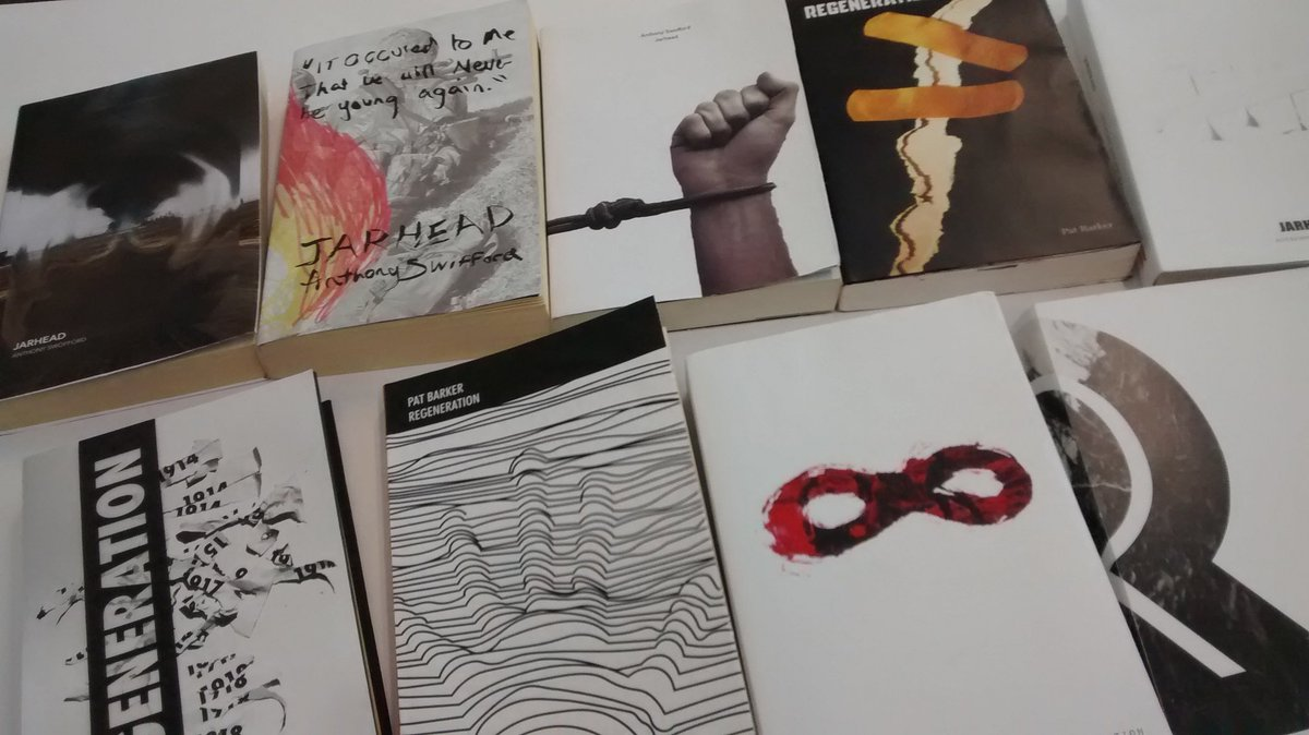 Just some of the book covers project we&#39;ll be exhibiting tomorrow @edinburghcoll hub as part of the #schoolsproject #designeducation<br>http://pic.twitter.com/CqsYM40FMe