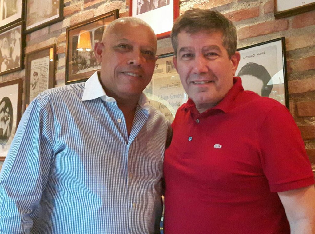 Carmelo Cortez y Esteban Trapiello
