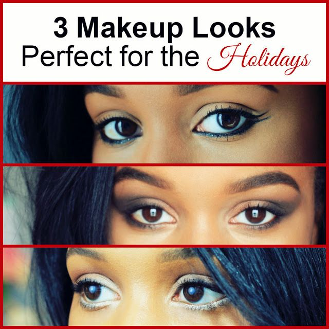 3 Perfect Makeup Looks for the Holidays