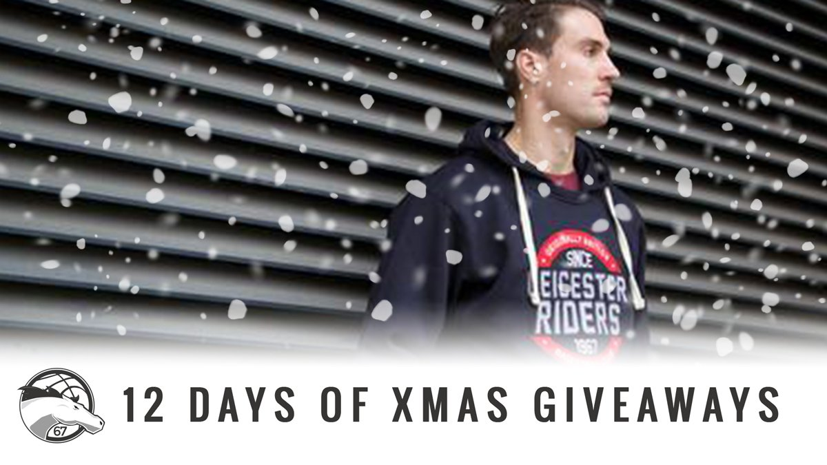 12 Days of Christmas - Day Two!!!   Retweet this tweet for a chance to win a new Riders hoody!!   #OneTeam https://t.co/xhRu9Wv7Pj