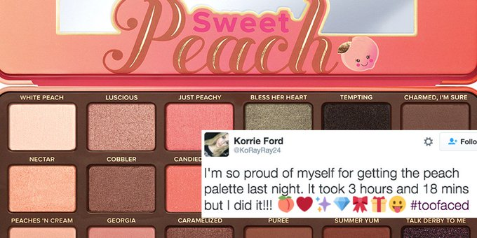 Too Faced's New Sweet Peach Collection Is Legit Breaking the Internet