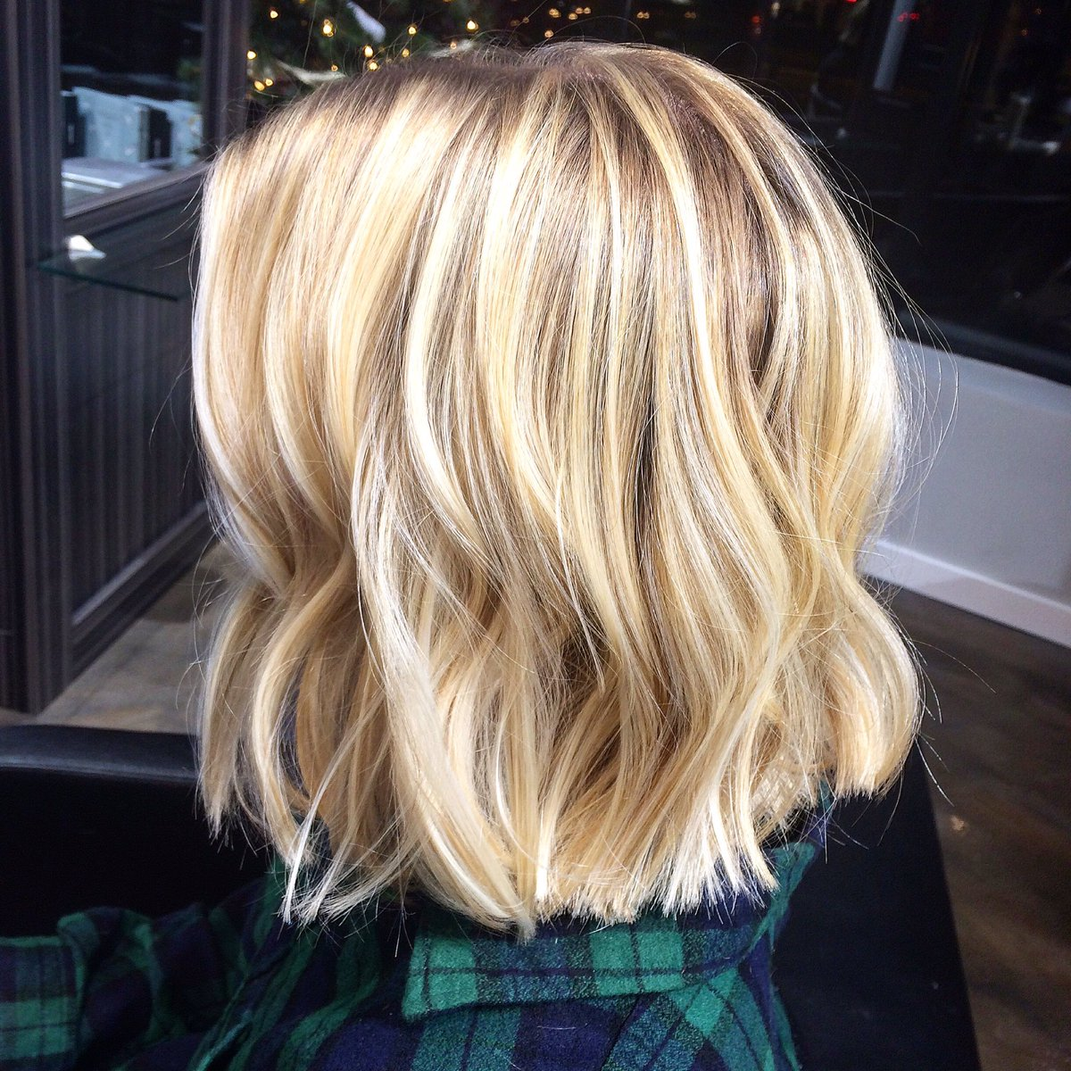 Ginger Salon On Twitter The Perfect Balayage Blunt Cut
