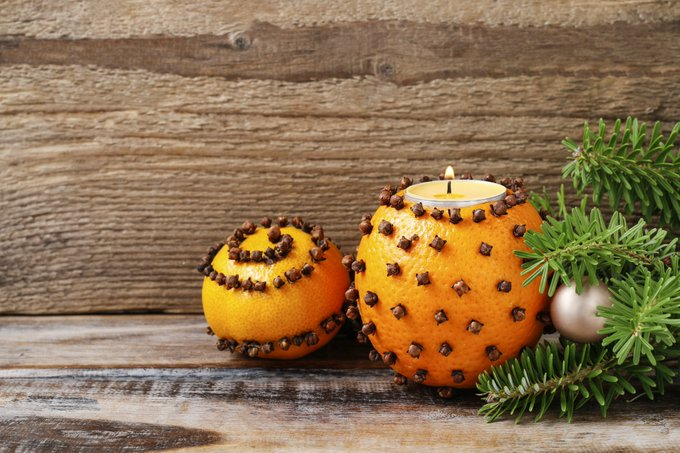 DIY Naturally Scented Candle: Orange You Glad it's the Holidays?