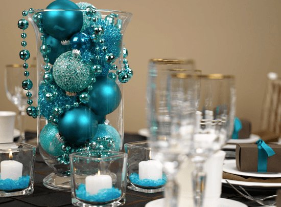 DIY Unique Christmas Table Decorations For Holiday Parties