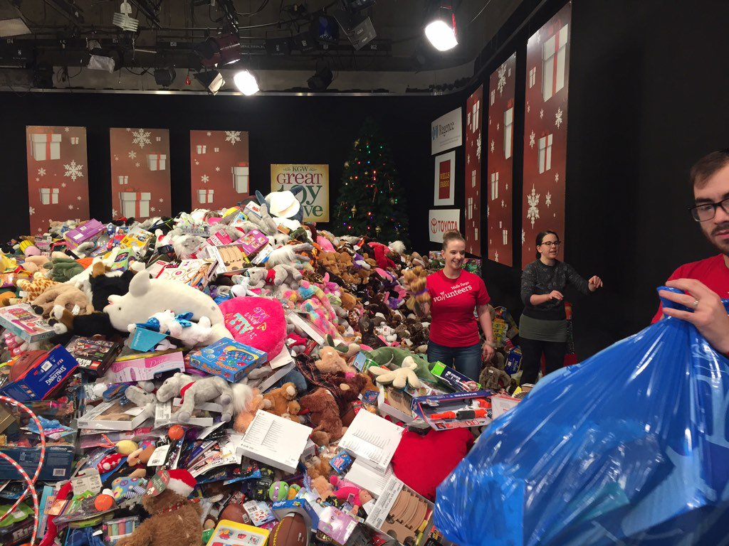 adidas employee store toy drive