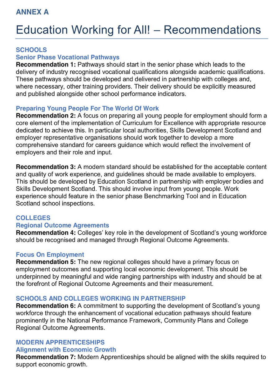 Skills Dev Scotland On Twitter Developing The Young Workforce 2nd