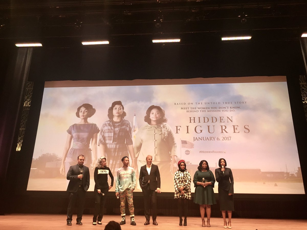 Loved watching #HiddenFigures - great STEM story of African American women @NASA that helped launch US space program