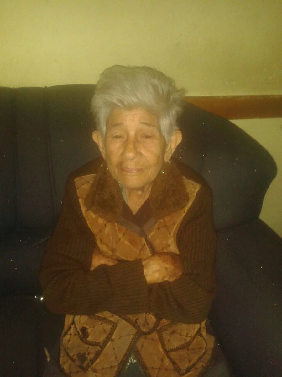 #SERVICIO ESPECIAL: Señora MARÍA CELINA NIÑO, 86 años, se encuentra extravíada en nuestro Cuartel ubicado en maracay https://t.co/9PeEu9HMmc