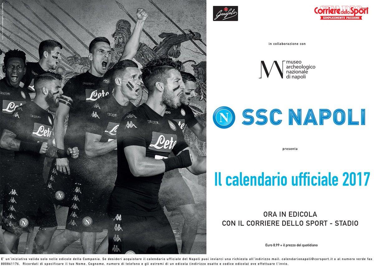 Official Ssc Napoli On Twitter Calendario Ufficiale Ssc Napoli 2017 Ora In Edicola Con Il Corriere Dello Sport Stadio Https T Co Iwhlvj2x2n Calendariosscnapoli Https T Co 3lbvut1jok