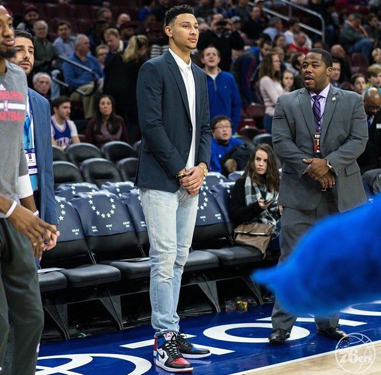 Versace Sneakers Jordans Ben simmons trusting t...