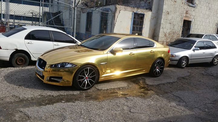 Jonathan On Twitter Jamaica S Own Gold Jaguar Xf S