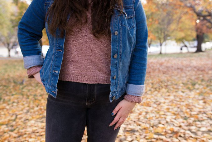 Lifestyles of Emily: BLUSH, DENIM & NOT QUITE WINTER