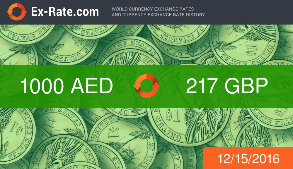 Forex aed to gbp