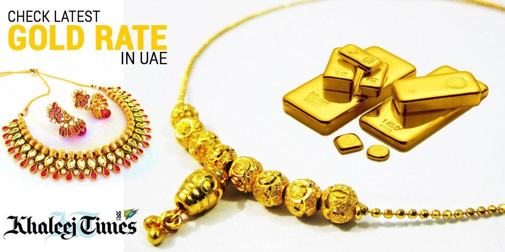 Gold forex rates@khaleej times