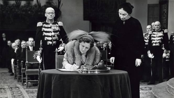 Koningin Juliana in de Ridderzaal, 15 december 1954