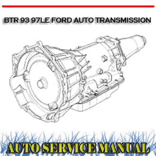 Ford Transmission repair Manual