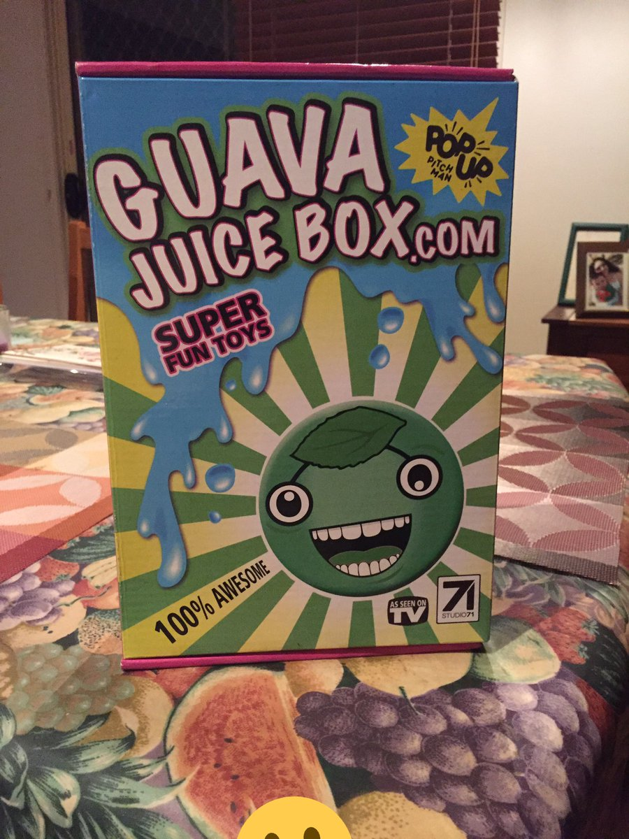 Gava Joucie But The Toy : Guava juice box guavajuicebox twitter