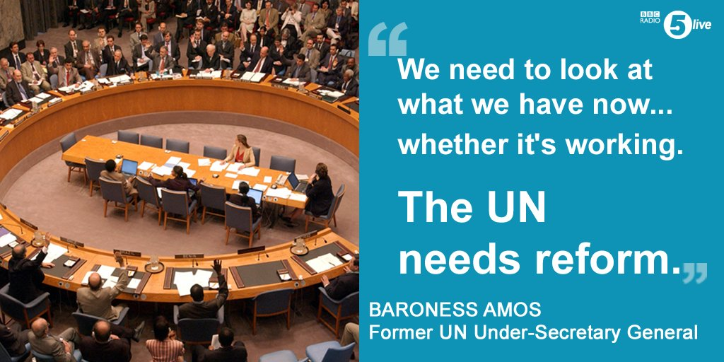the united nations needs reforms We need a united nations led by people for whom doing the right thing is normal and expected anthony banbury was a united nations assistant secretary general for field support until this month.