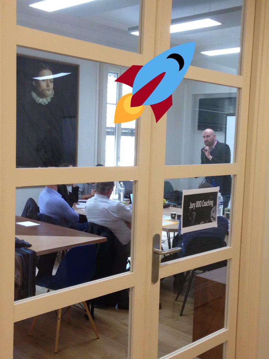 Avant dernier pitch,  avec @ROXWHALE ! Verdict la semaine prochaine ! #BDOCoaching #Startup<br>http://pic.twitter.com/dF08pcV5nH