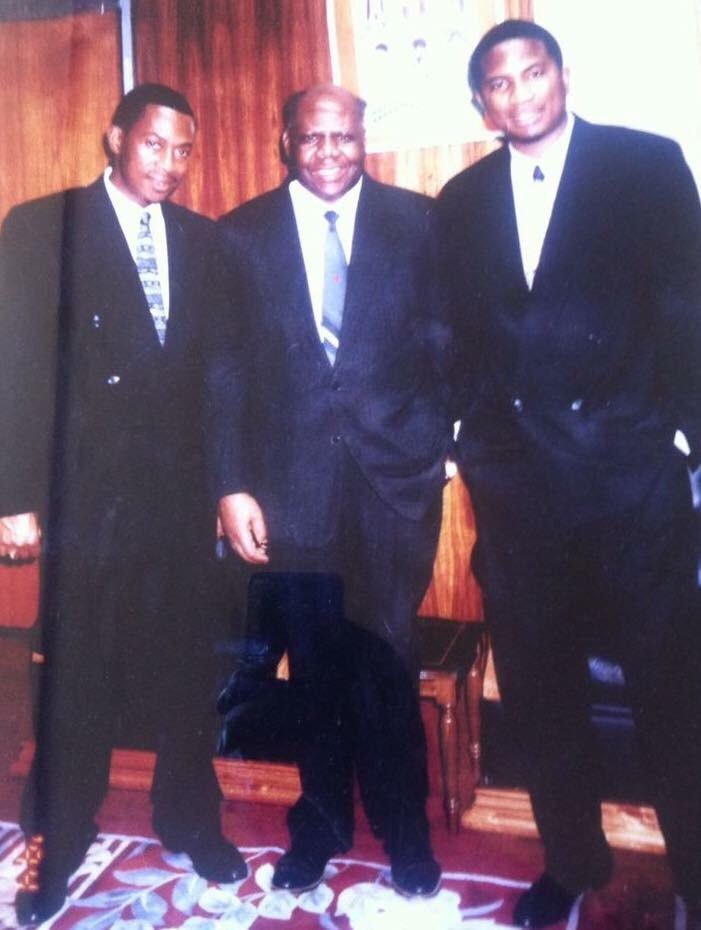 """Ranga.🇿🇼 on Twitter: """"#TBT: Businessman and black empowerment campaigner Roger Boka, flanked by Peter Pamire and Philip Chiyangwa.… """""""