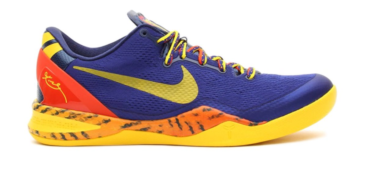 low priced 0b3a6 95223 In 1990, the lightest nike basketball shoe was the air flight lite. it  weighed 15 oz. the kobe 8 now holds that distinction (9.6 oz)