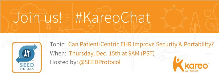 Welcome to #KareoChat with your host, @SEEDProtocol! For a last-minute review of the questions: https://t.co/EL5JXuqPqb Now: Roll Call! https://t.co/VeTFkVm81e