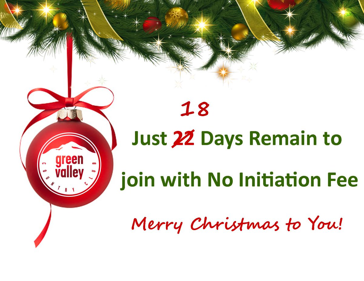 Green Valley Cc On Twitter Give Your Family The Gift Of