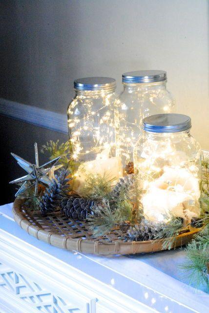 fairy light jars, lighting, seasonal holiday decor,  https://t.co/m5wLrjGGKy https://t.co/XGLJ6k9bS2