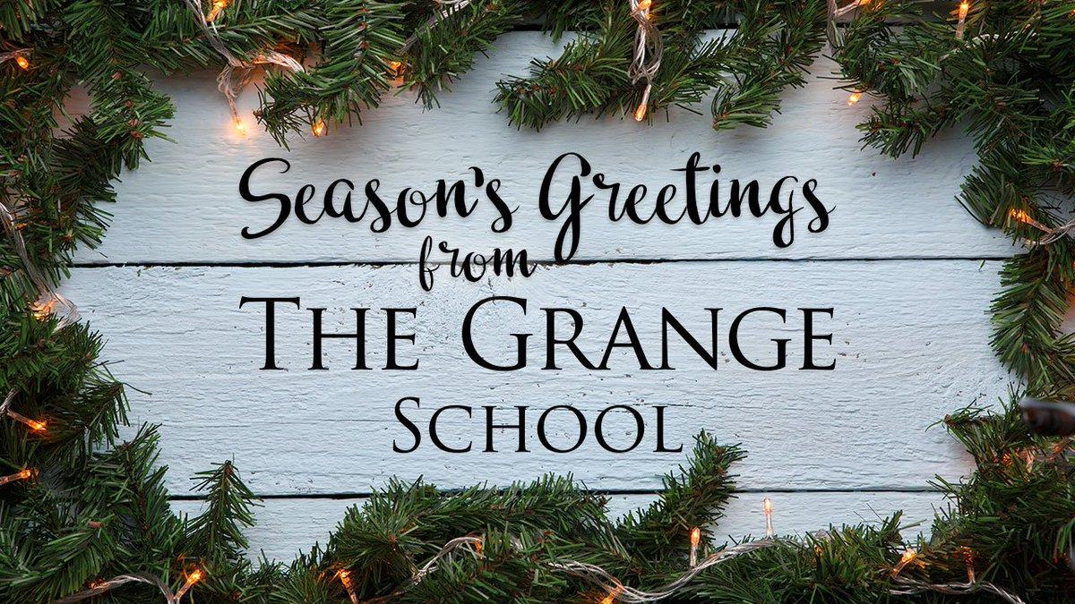 The Grange School On Twitter Seasons Greetings From Mrs Debbie