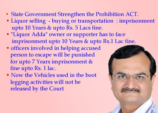 Gujarat govt amends prohibition act in order to make punishments more stringent