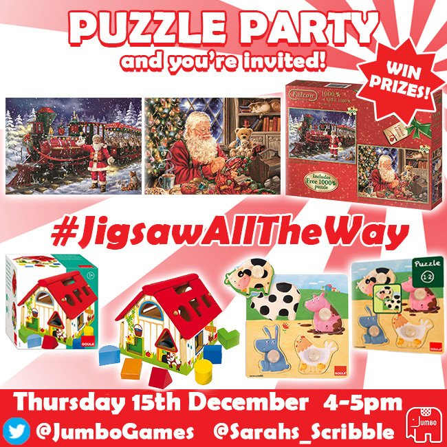 Dont forget you can win a puzzle bundle! tweet: I want to #Win #jigsawalltheway bundle this xmas' https://t.co/TBs6VuGkMn