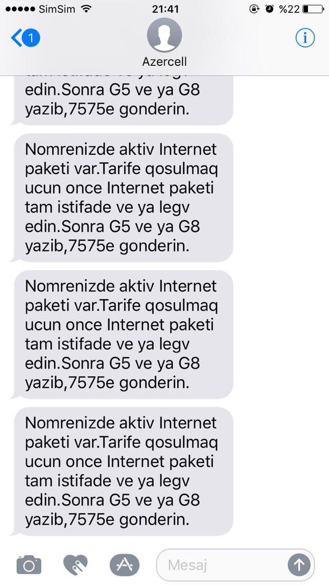 Azercell Internet Paketleri Legv Etmek