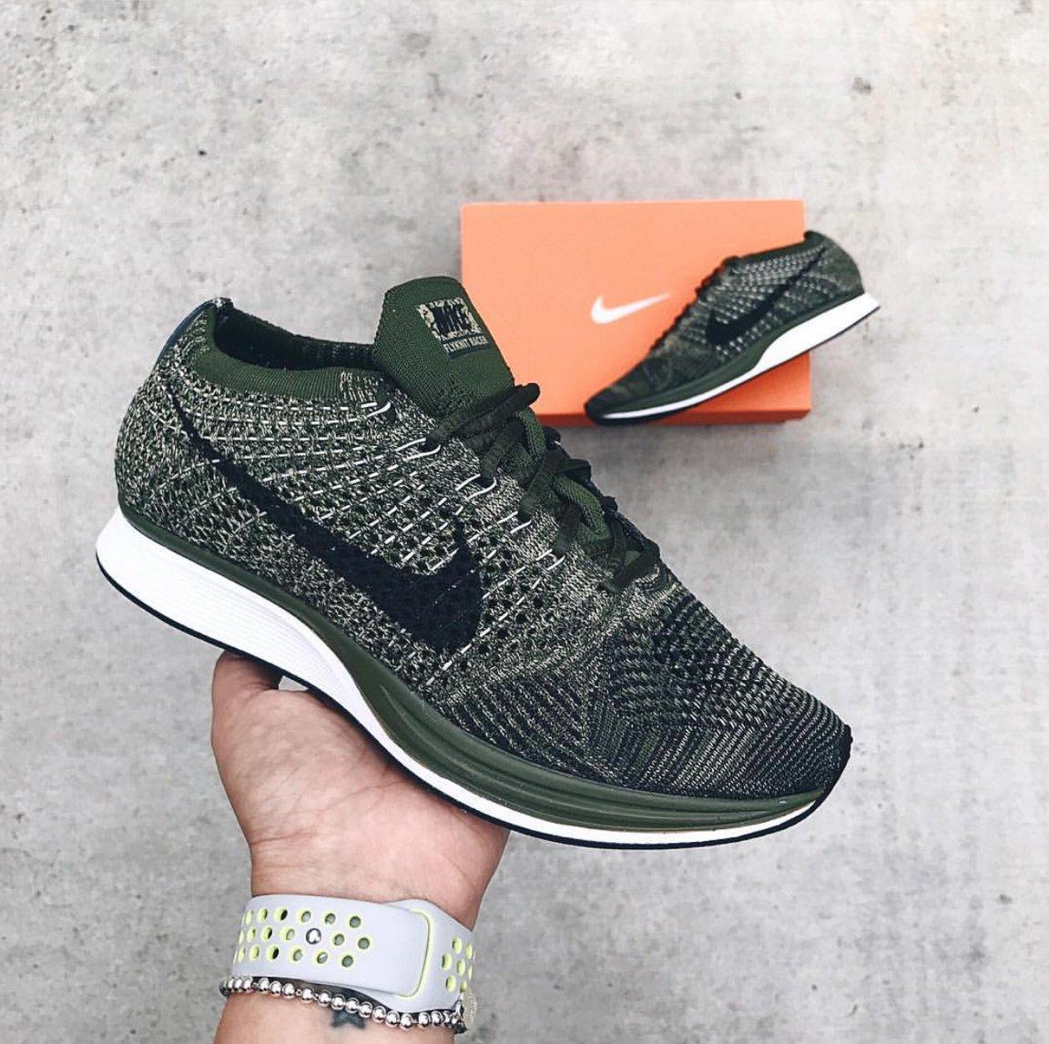 buy online 66bee cfae4 RESTOCK Nike Flyknit Racer