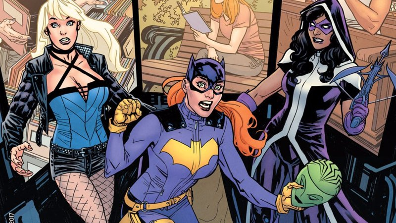 There's a new Oracle in the DC Universe