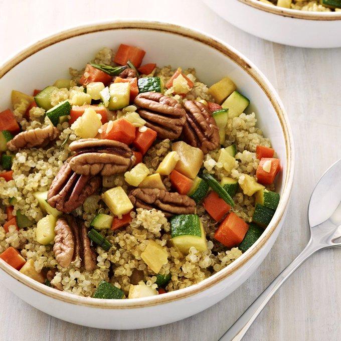 Easy Confetti Quinoa Salad or Warm Bowl Recipe