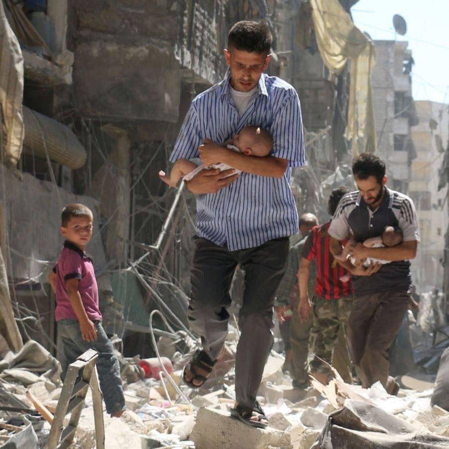 Feliz Navidad. #Alepo https://t.co/Iw02sC4RSD