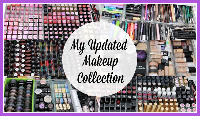 UPDATED MAKEUP COLLECTION, PART ONE