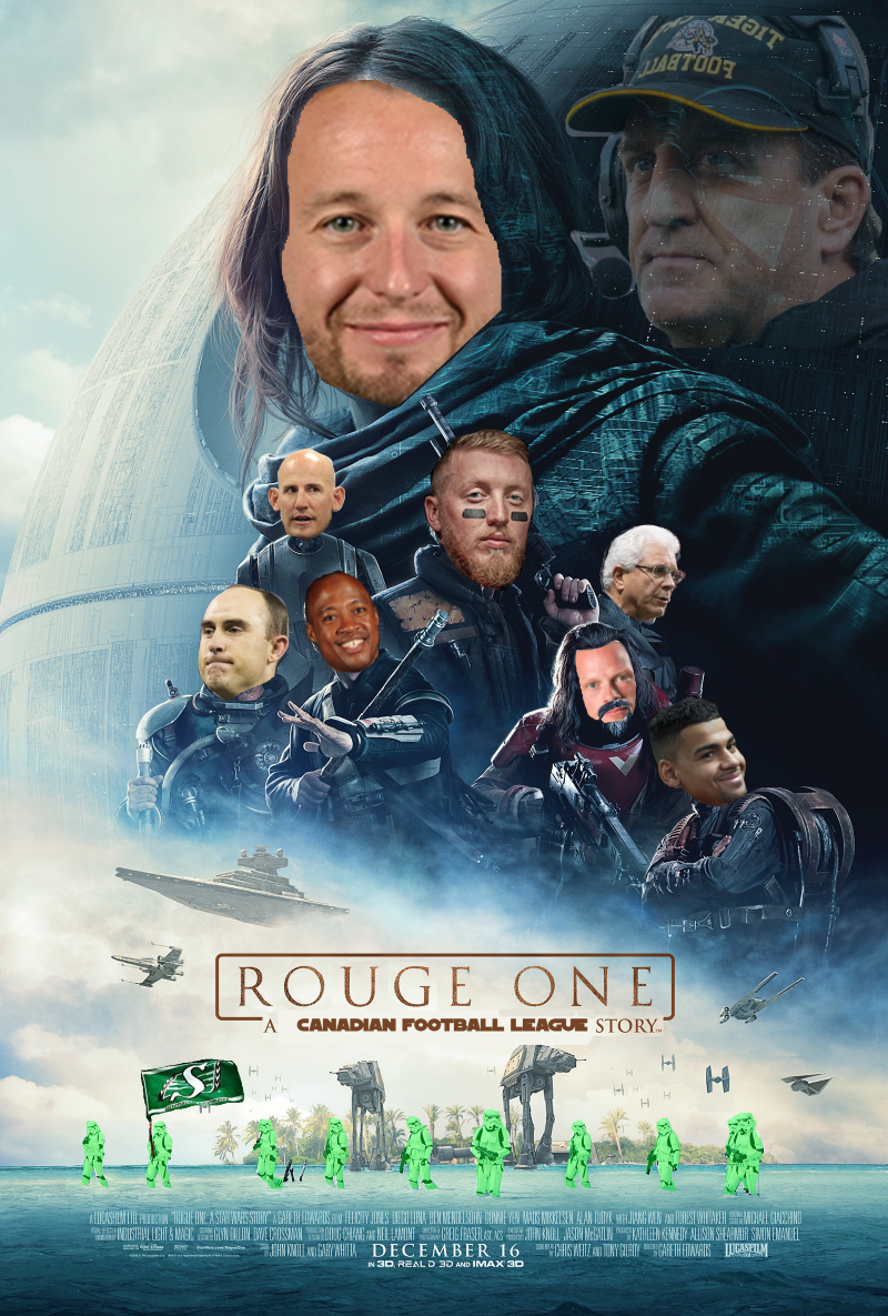 Who's pumped for the first stand-alone @CFL movie?! #RougeOne cc/ @fakeGAINER https://t.co/tETXjQI5GO