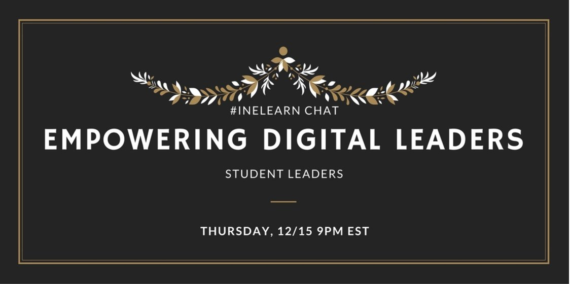 Thumbnail for #INeLearn Chat 12/15/16