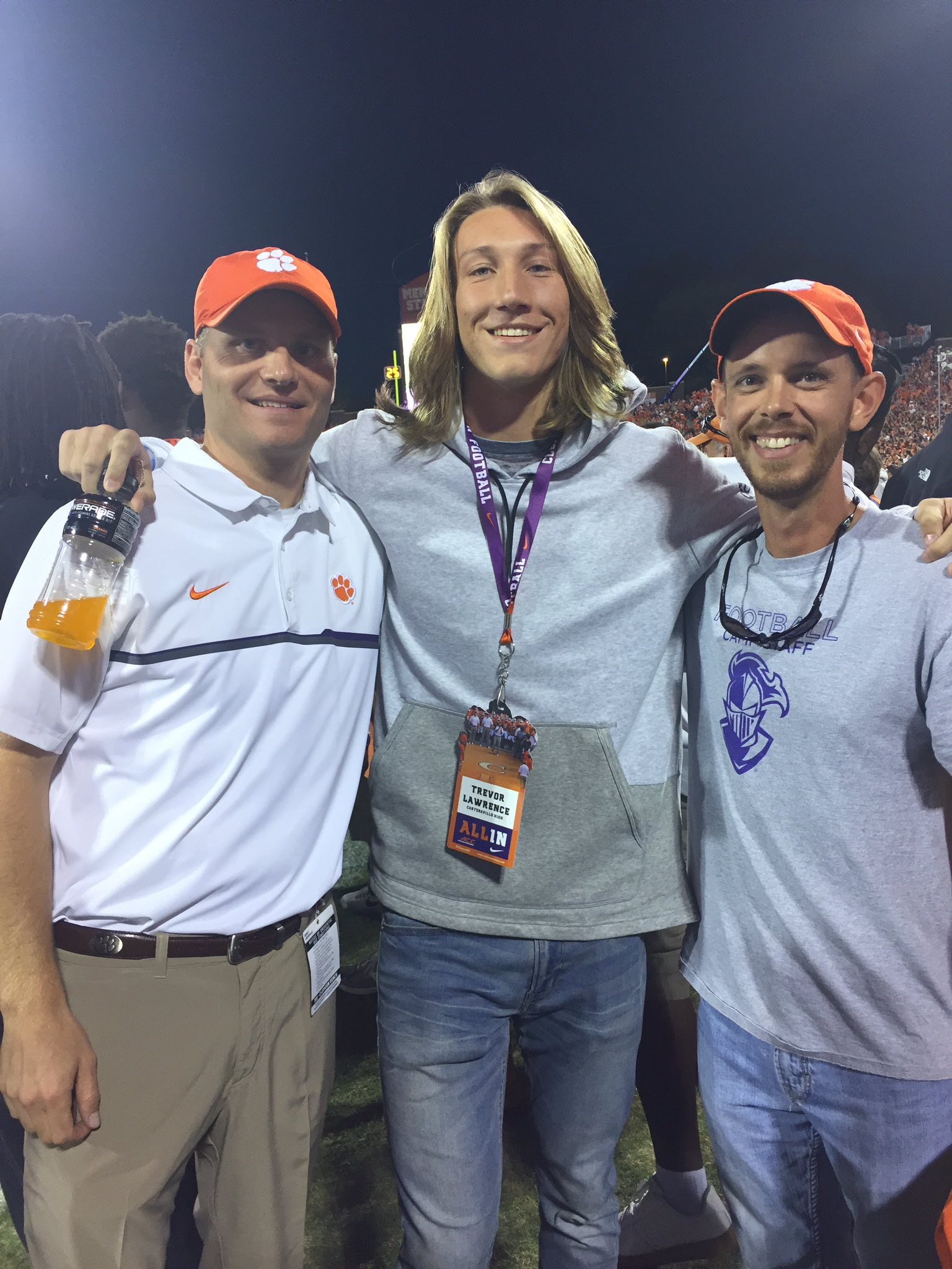 "Trevor Lawrence on Twitter: ""Please respect my decision ..."