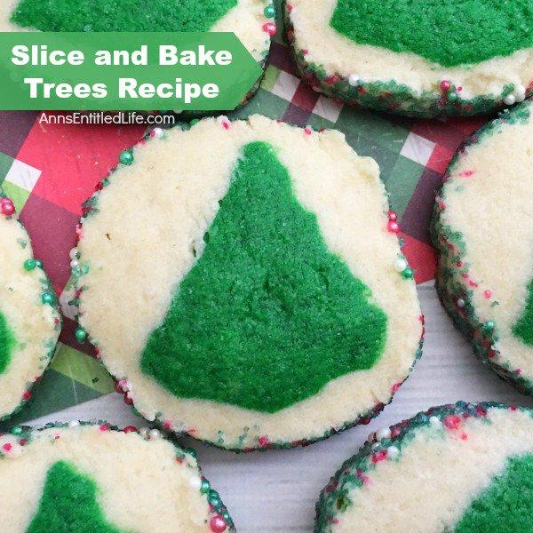 Slice and Bake Trees Recipe