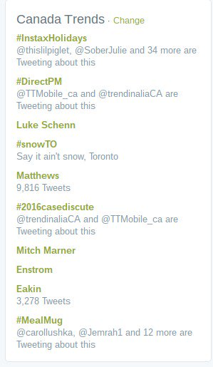 Whoomp There It Is! Trending first in Canada! @SJConsulting_CA #instaxholidays https://t.co/JYfZoDzbAG