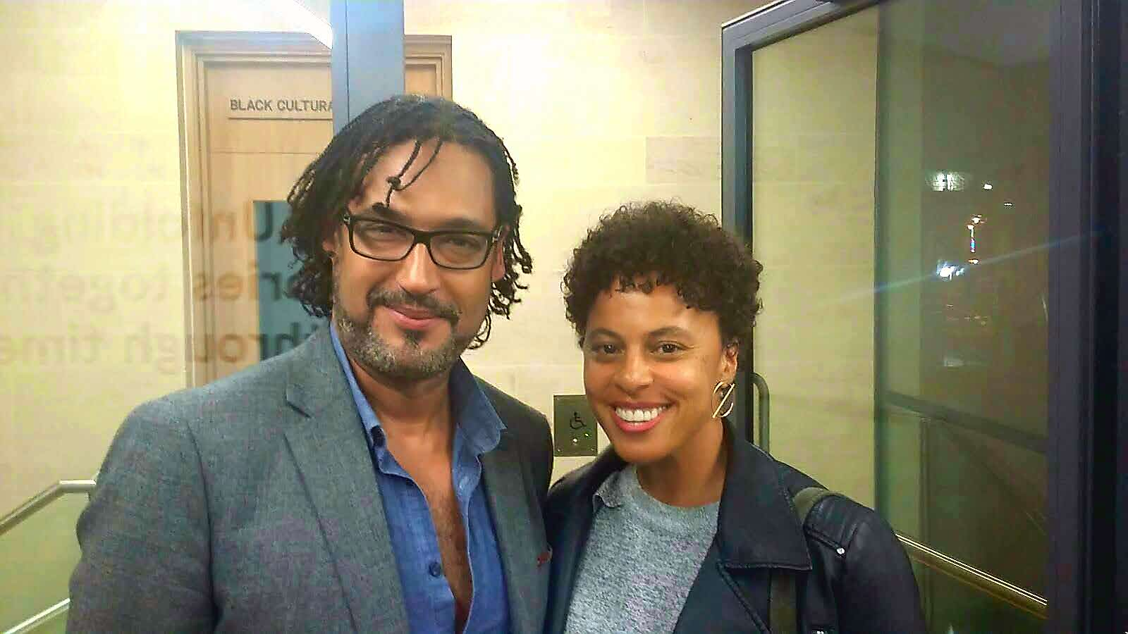 Not big on photo ops, but genuinely pleased to meet the historian and presenter @DavidOlusoga tonight at @bcaheritage. Great work, Sir! https://t.co/OoHryyBKzv