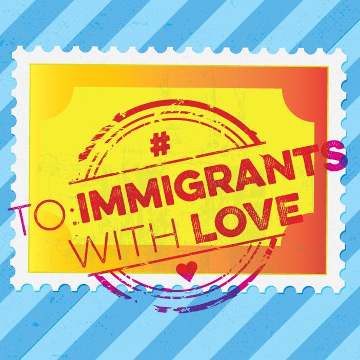#ToImmigrantsWithLove: During this holiday season, let's send all of our immigrant friends & family, compassion, friendship and kindness. 💕 https://t.co/yxQoiHcjN2