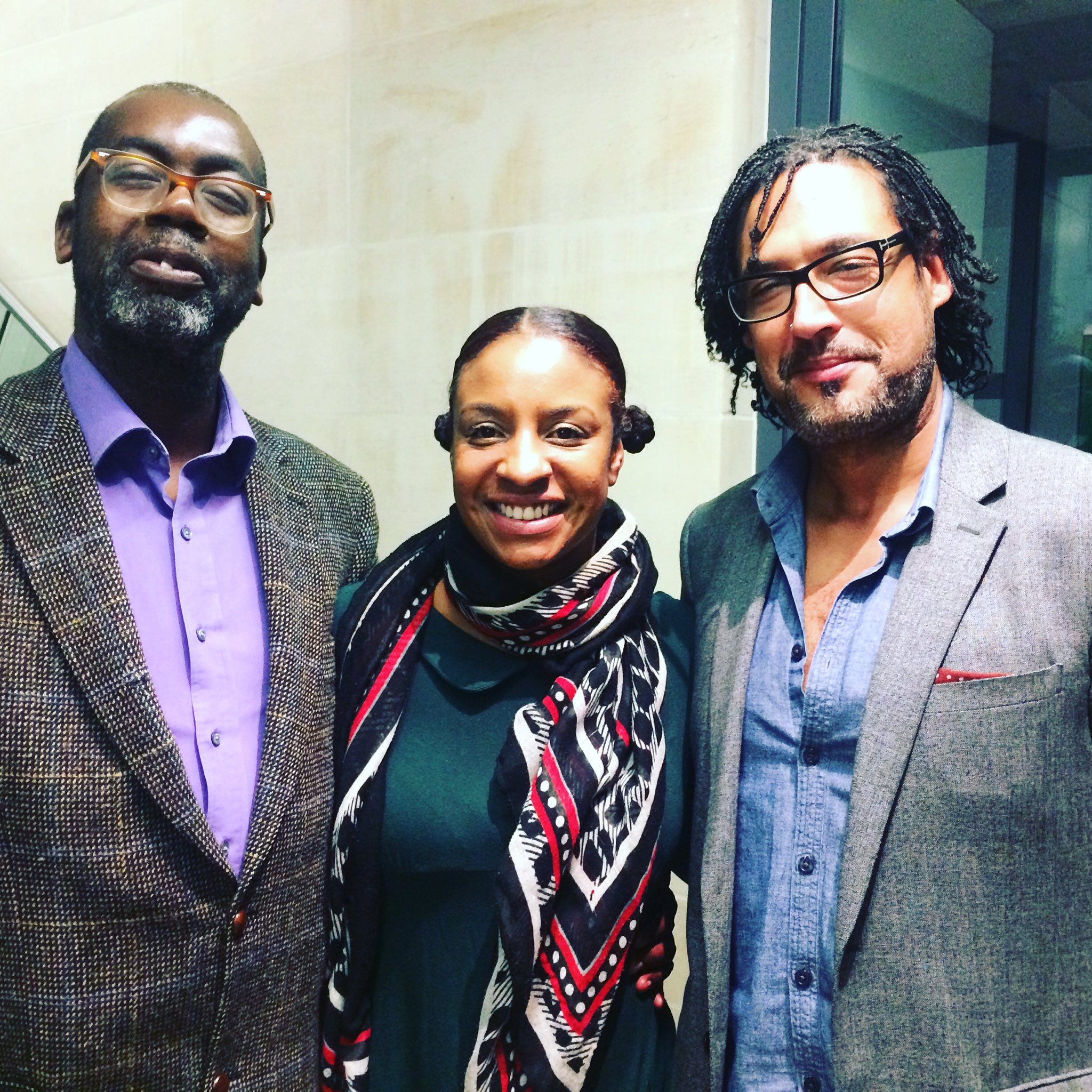 A fascinating evening at @bcaheritage. Here's me with @ppvernon and  @DavidOlusoga https://t.co/KqNnFpKgyy