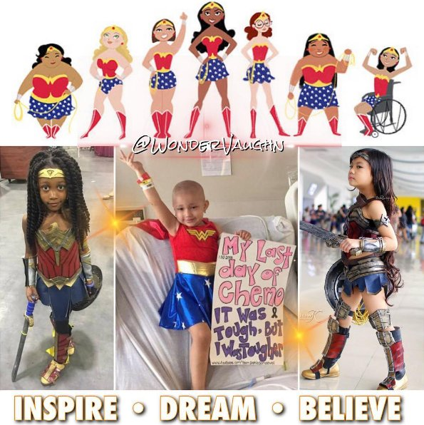 So amazed by these WONDER-ful girls! ❤️ Never lose sense of your wonde...