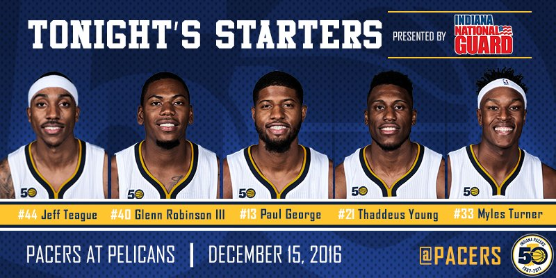 4e6fad7d6 Indiana Pacers on Twitter