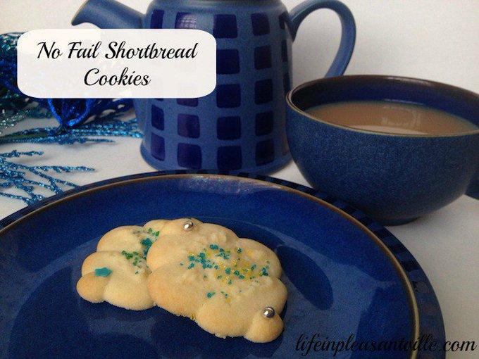 No Fail Shortbread Cookies